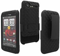Verizon Shell/holster W/ Kickstand Case 4 Htc Droid Incredible 2 Smartphone