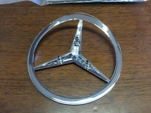 Mercedes Genuine Trunk Emblem Star Insignia 560SL 1986-1989