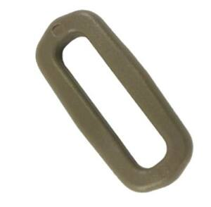4-unidades-Anillo-rectangular-D-ring-25-mm-Tan-ITW-square