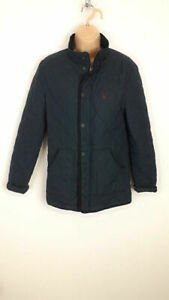 WOMENS-JACK-WILLS-NAVY-BLUE-ZIP-UP-LIGHTWEIGHT-COAT-JACKET-XS-EXTRA-SMALL