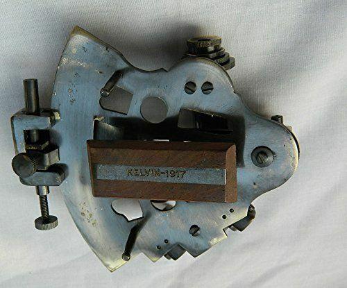 "4/"" Antique Brass Pocket Sextant Navigation Nautical Marine Vintage Marine Gift."