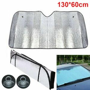Auto Windschutzscheibe Sonnenschutz UV-Schutz Frontscheibe Abdeckung 130*60cm