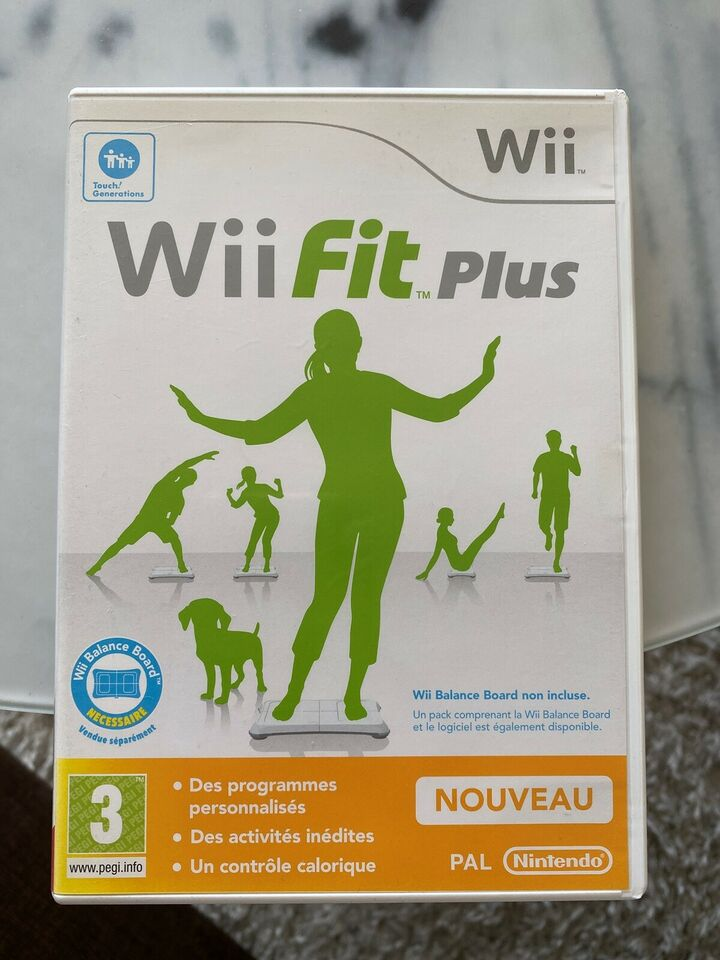 Wii Fit Plus, Nintendo Wii, sport