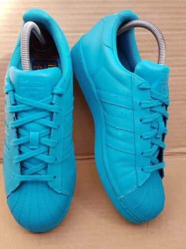 5 5 Green Pharrell Size Adidas Rare Shell Trainers Toe Lab Uk Williams Superstar gCqC0w8