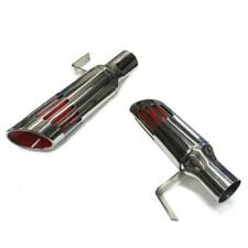 71 74 B Body Mopar Charger Road Runner Long Slotted Exhaust Tips 225 Id Inlet Fits 1972 Charger