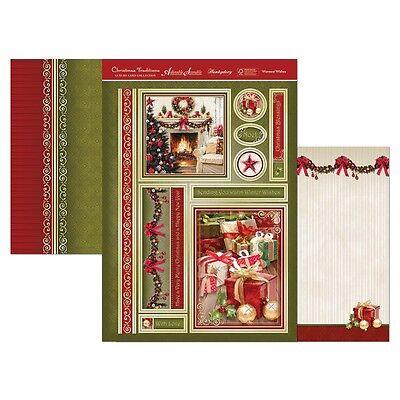Hunkydory Cute At Christmas Topper Sheet /& 2 A4 Blanks Various Designs