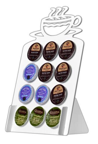 12-Slot Coffee Cup Acrylic Keurig K-Cup Coffee Pod Holder