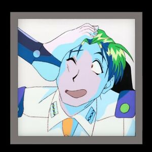 FLASH-SALE-BURN-UP-Authentic-Animation-Cel-Original-Anime-Production-Art