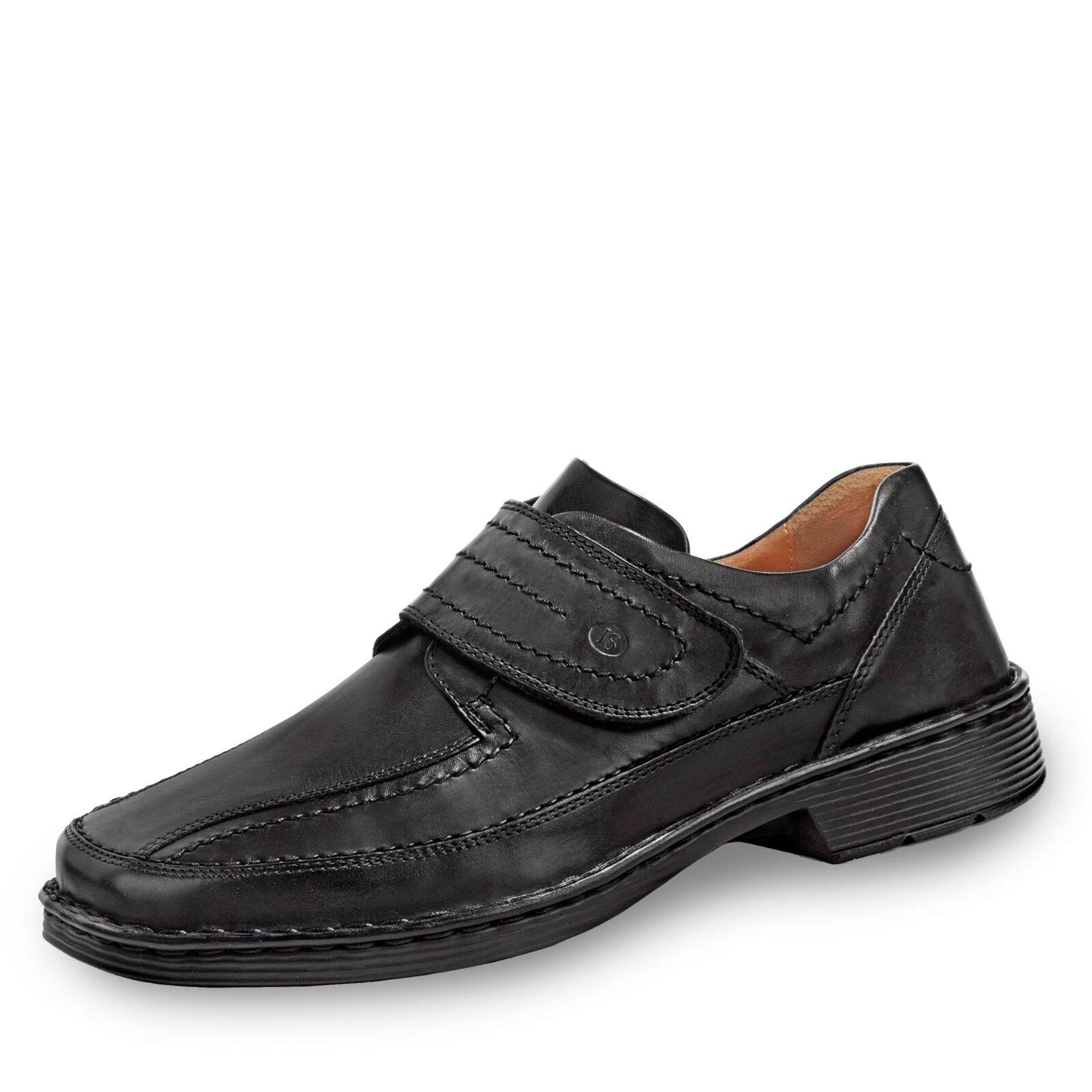 Josef Seibel Herren Halbschuh Businessschuhe Komfortschuhe Schuhe Leder schwarz