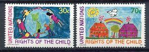 19235) UNITED NATIONS (New York) 1991 MNH** Children
