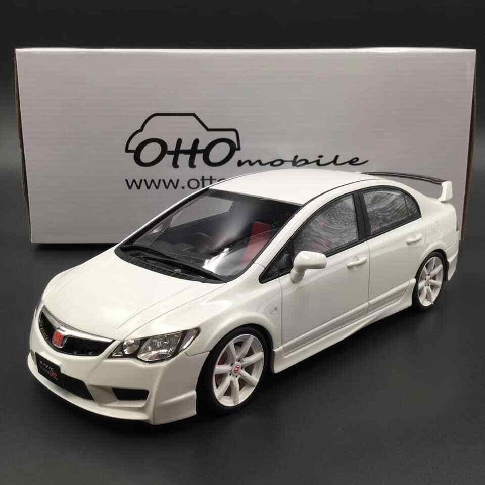 Otto modello 118 Honda Civic Type R FD2 facelift Late version bianca  .OT838