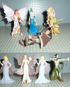 4 Bully Fantasy Figuren + 4 weitere - anscahuen