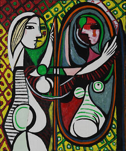 repro 20 x24 popular famous oil paintings pablo picasso girl
