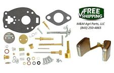 Complete Carburetor kit & Float Massey Ferguson TO30 Tractor Marvel Carb TSX458