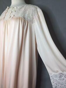 Shadowline-Peignoir-Set-Gown-2X-Robe-XL-Vintage-60s-Nylon-Lace-MIXED-SIZES-2X-XL