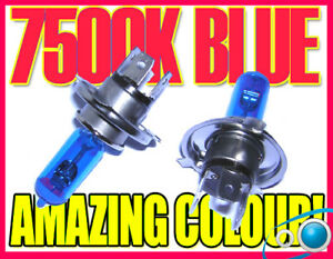 Image Is Loading H Ice Blue Xenon Headlight Bulbs Headlamp Replacement