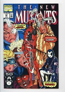 New Mutants #98 Vol 1 Almost PERFECT High Grade 1st Appearance of Deadpool