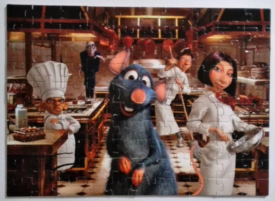 Ratatouille (Disney Pixar), 100 brikkers Educa,
