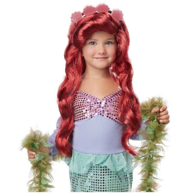 Ariel Little Mermaid Outfit Toddler Girls Kids Costume