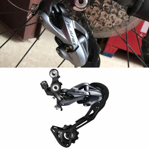 9 Speed MTB Mountain Bike Shadow Rear Derailleur for Shimano Alivio RD-M4000 FP