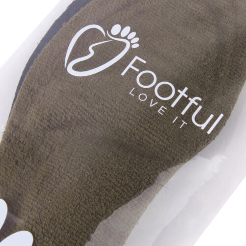 Footful Breathable Terrycloth Arch Support Flat Feet Shoe Insoles Insert Cushion