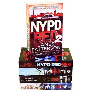 James-Patterson-NYPD-Red-Series-1-5-Collection-5-Books-Set-NEW