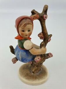 Apple-Tree-Girl-Hummel-Goebel-Number-141-3-0-Figurine-TMK-2-Circle-Bee-4-5-034