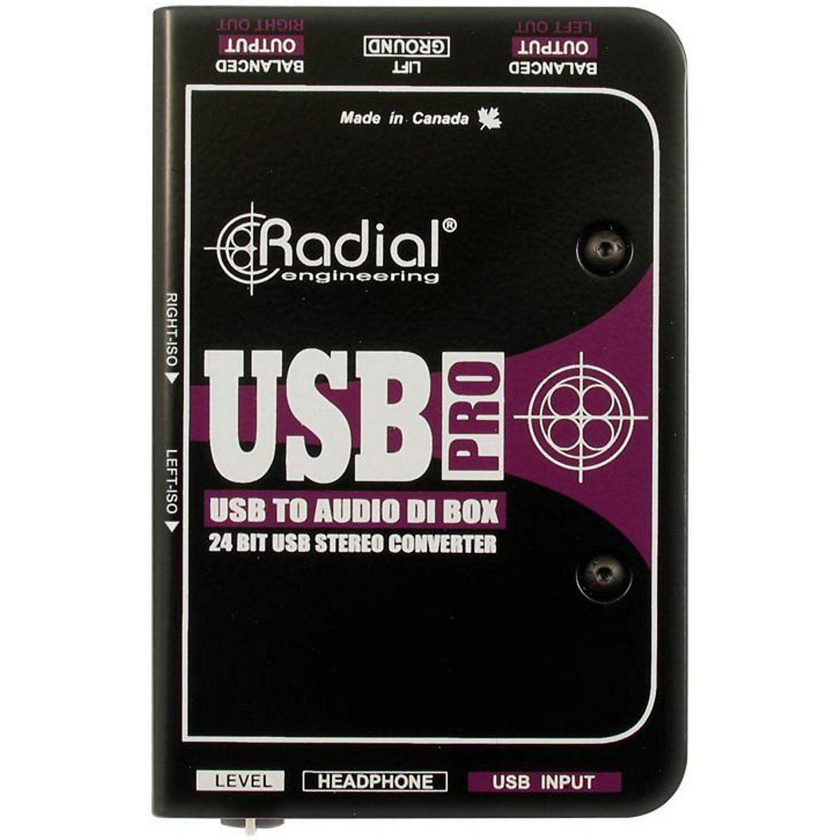Radial Engineering Engineering Engineering USB-Pro Estéreo USB portátil di Nuevo  entrega gratuita de 2 días    7571c4