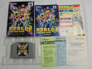 W5984-Nintendo-64-Custom-Robo-Japan-N64-w-box