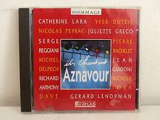 CD ALBUM Ils chantent AZNAVOUR REGGIANI / GUIDONI / LARA / DUTEIL / DAVE 6227301