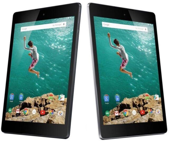 "HTC Google Nexus 9 Tablet 8.9"" 32GBWi-Fi ONLY Tablet-Black/Read Description#CM12"