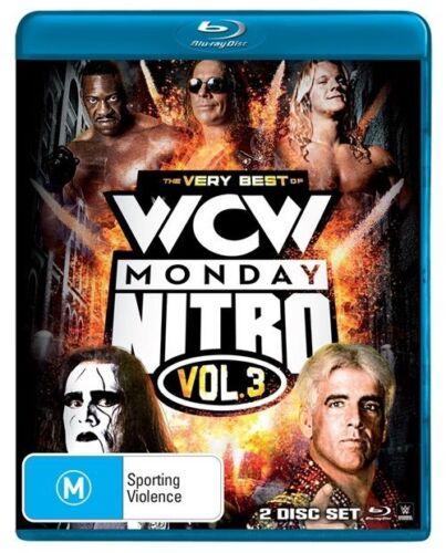 1 of 1 - WWE: Very Best Of Nitro - Vol 3 Blu-ray Discs NEW