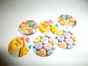 Pre Cut One Inch Bottle Cap Images Valentine Candy Candies Free