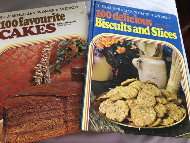 The Australian Women S Weekly 100 Delicious Biscuits And Slices 1972 Hc Book For Sale Online Ebay