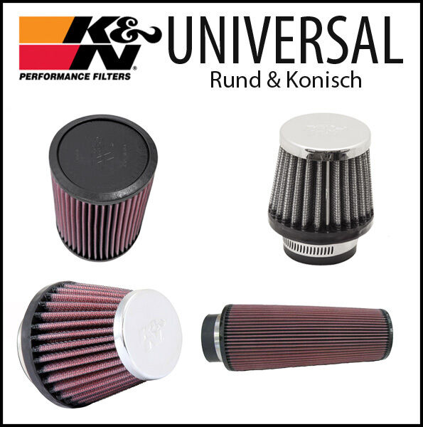 K&n Filters Universal Sport Air Filter Conical 60 Types