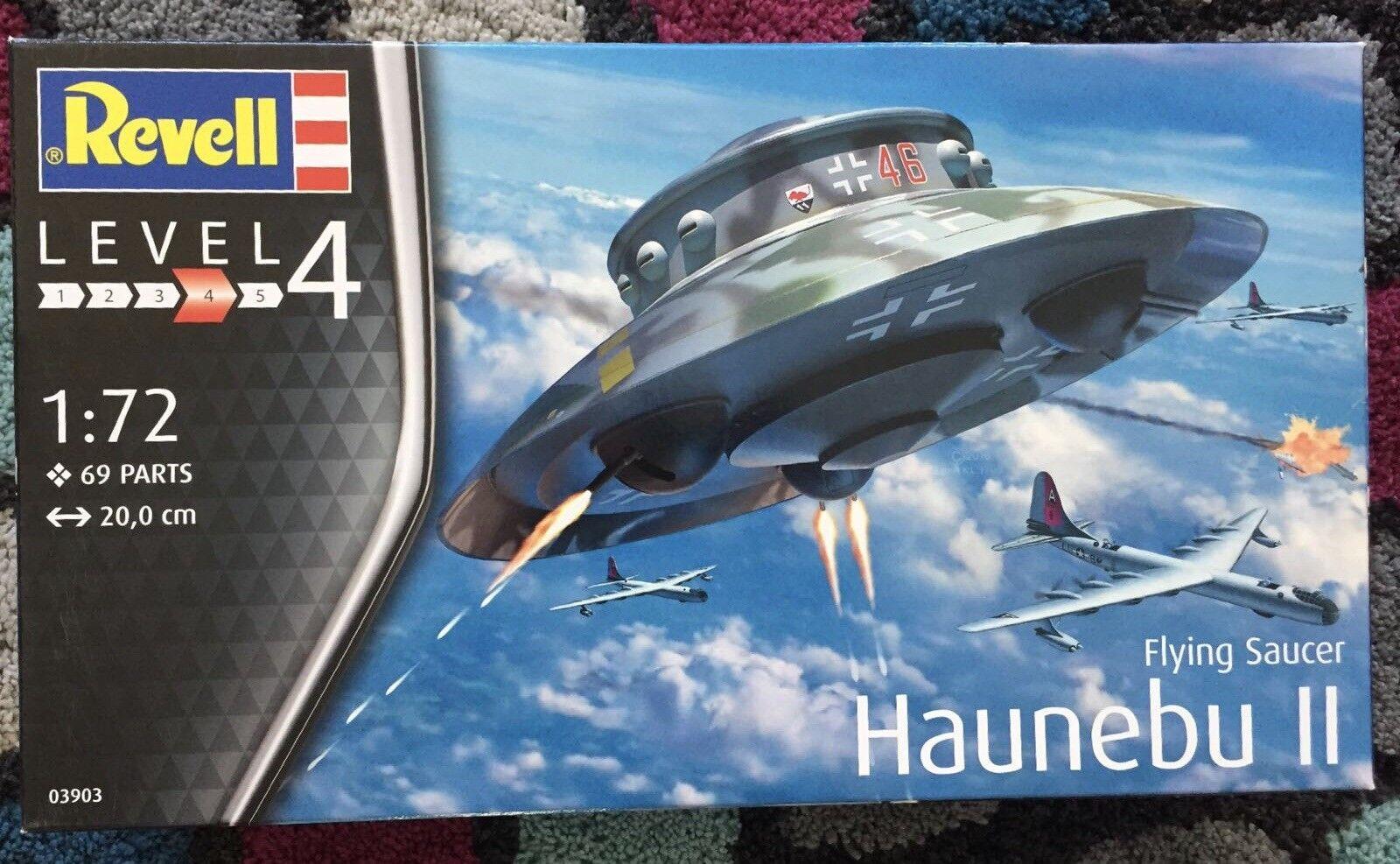 1 72 Revell Haunebu II fliegen Saucer 03903  NEU OVP - RAR