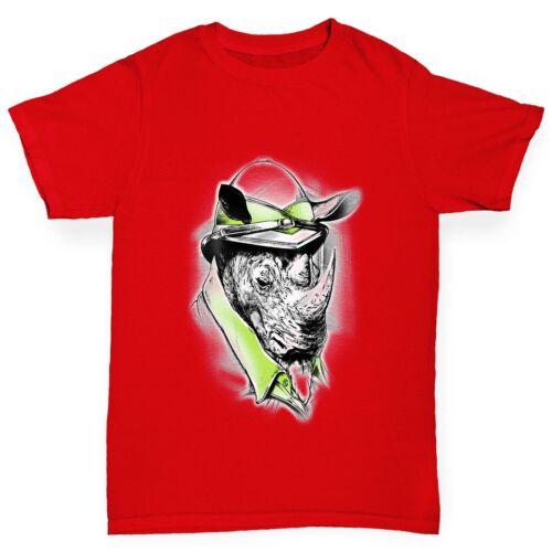 Twisted Envy Safari Rhino Boy/'s Funny T-Shirt