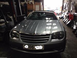 Dettagli Su Breaking Chrysler Crossfire Cabrio Auto Posteriore Dadi A 12569879 Mostra Il Titolo Originale