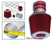 BCP RED 92-98 Jetta Passat Golf Corrado 2.8L VR6 Short Ram Air Intake + Filter