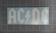AC DC Logo Vinyl Sticker Decal metal bumper music car window laptop ACDC