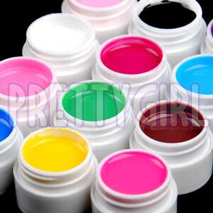 12-Color-Solid-Pure-UV-Builder-Gel-Nail-Art-Deco-Set-Kit-Cream-Polish-Pro