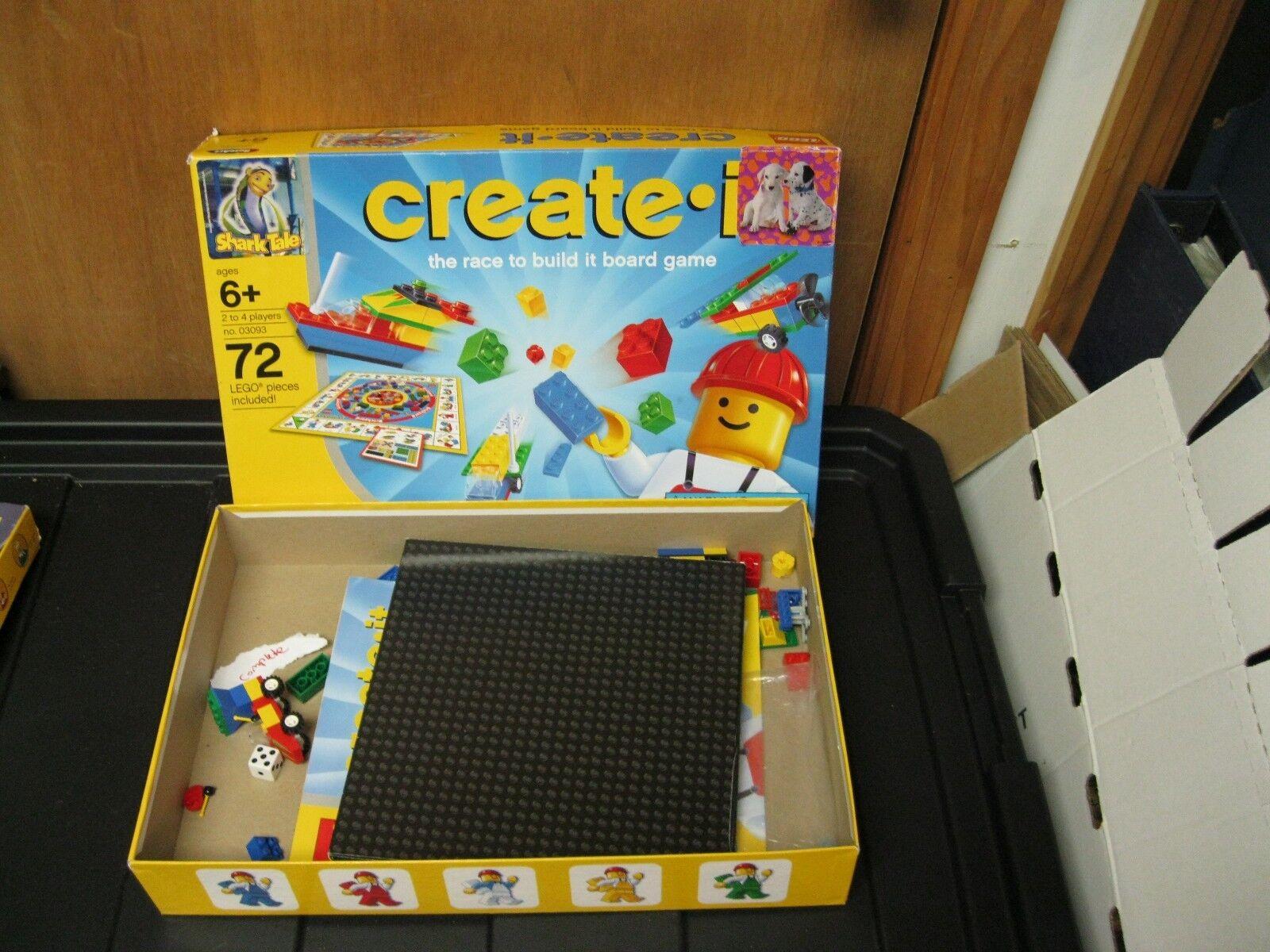 Lego - spiel zu bauen create-it rennen spiel komplett