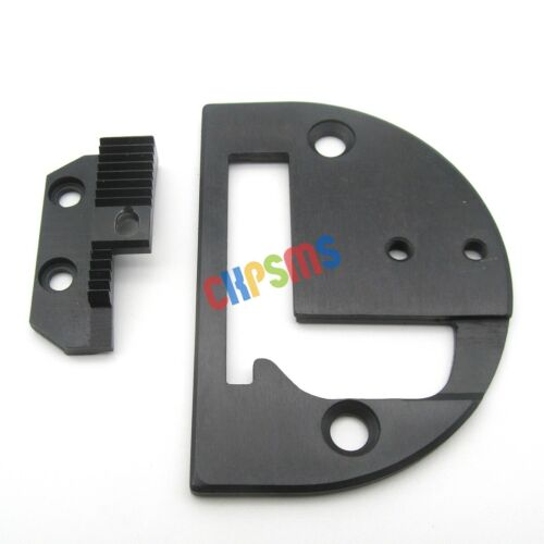 1 SET#18030-280CRBL NEEDLE PLATE+FEEDER for BINDER FIT FOR JUKI DNU-1541 DNU-241