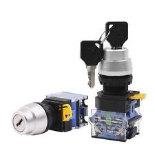 22mm 10a Onoff Key Switch Security Lock Heavy Duty Keyed Power Rotary Switch