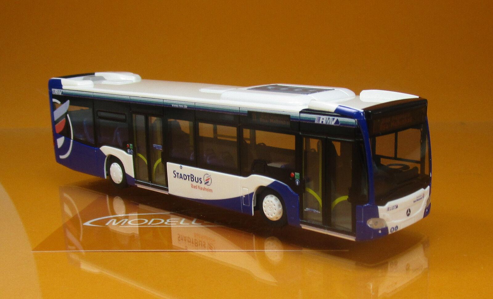 Rietze 69488 MERCEDES CITARO 12, bain manœuvrable Nauheim paille Autobus 1 87