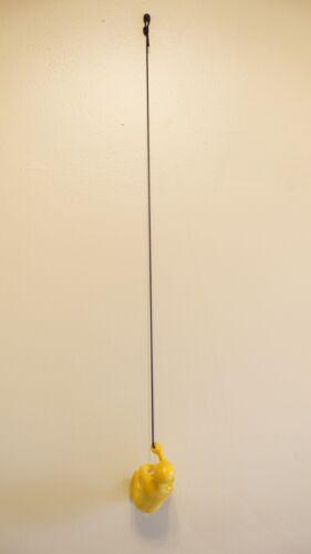 YELLOW  # 3 Climbing man wall art x 1 pcs ! Bigger Exclusive! Heavier