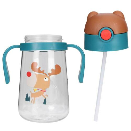 Spill Resistant Water Sippy Cup Children Learning Drinking Baby Water Bottle