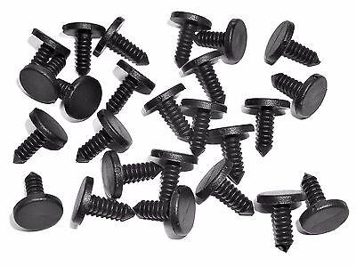 "25 pcs #072 For Nissan Nylon Push Retainer Clips 3//4/"" Long Fits 11//32/"" Hole"