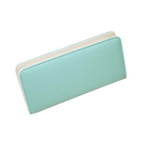 New Fashion Wome Ladies  Zip Wallet Clutch Long Purse Card Holder Handbag Bag UK