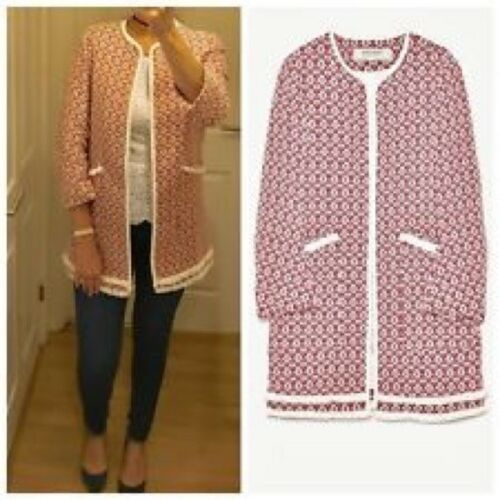 Bloggers Sold Tweed Zara Frayed Rare £69 Medium Out Authentic Coat 99 Bnwt nSqFx8F1Hw